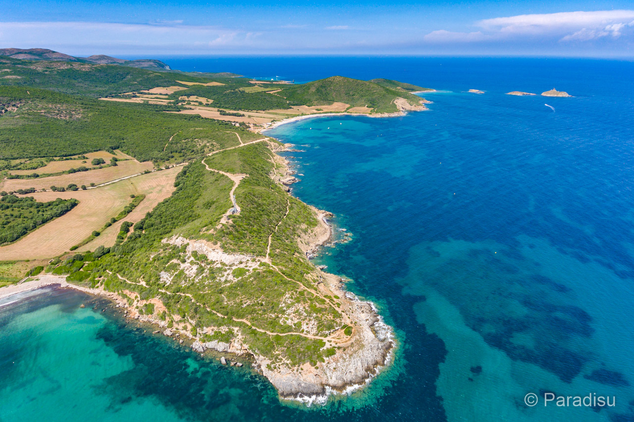 Cap Corse Küste Nördlich Von Macinaggio