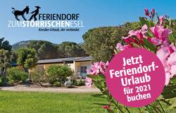 Banner Rhomberg Feriendorf Zum Störrischen Esel