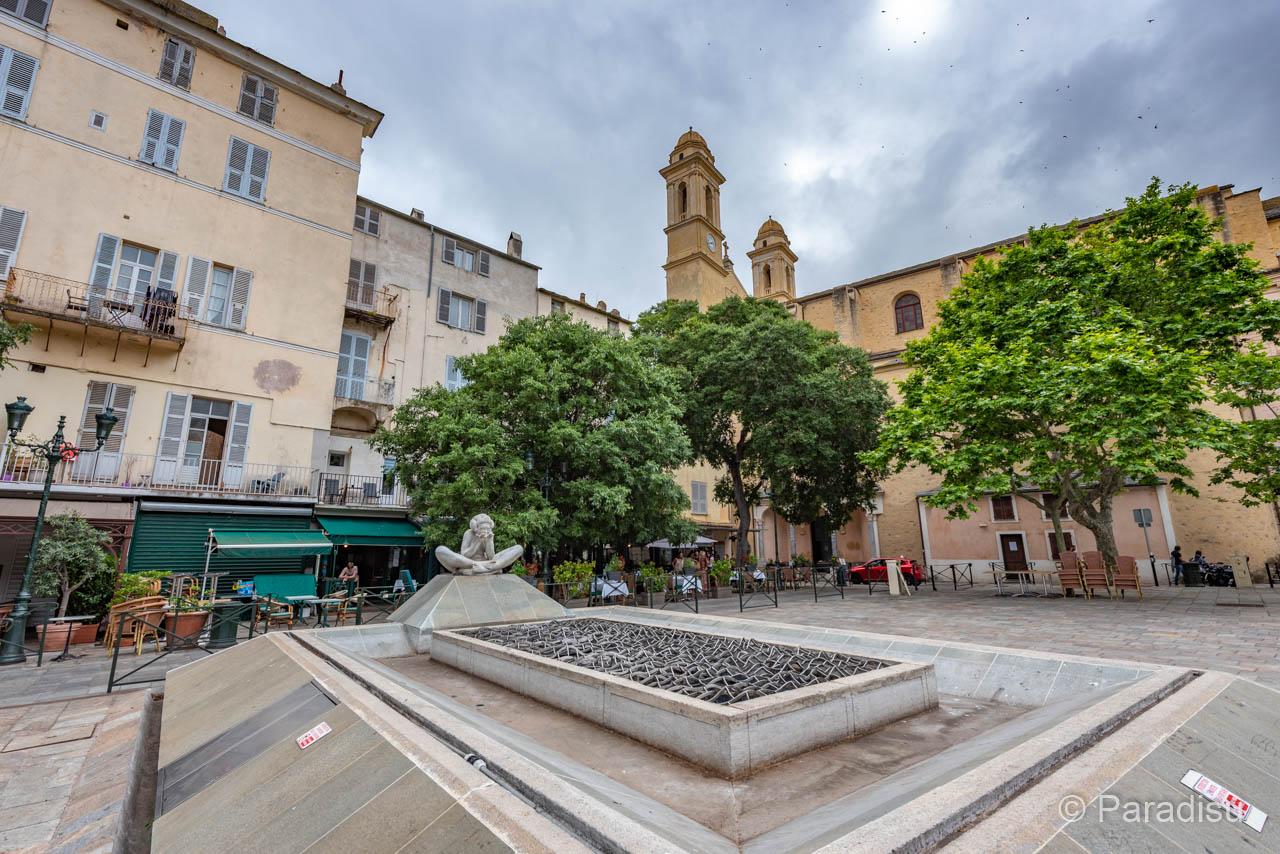 Bastia Place Du Marché