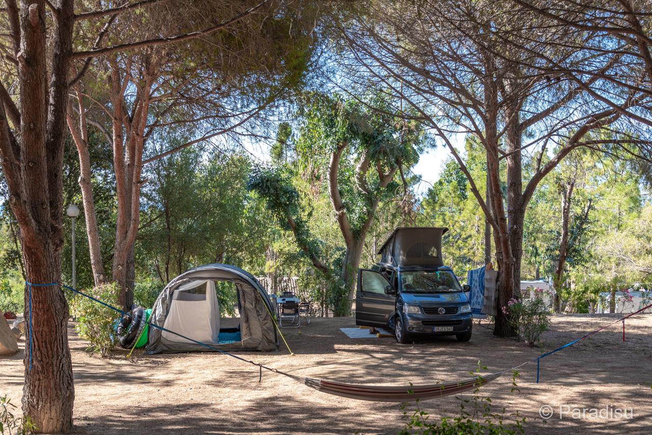 Camping Korsika 11 VW Bus Auf Korsika