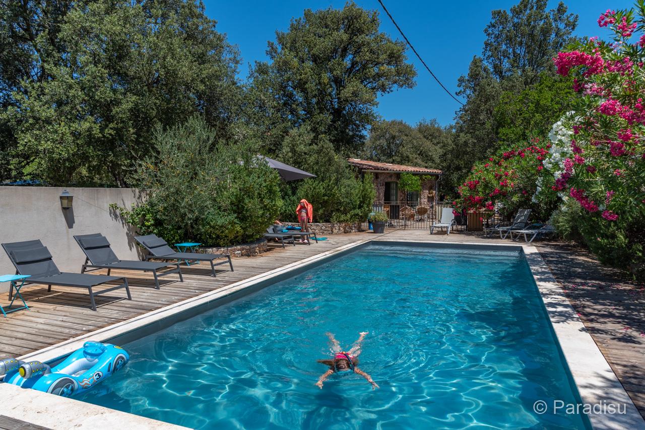 Camping Korsika 12 Tizarella Pool