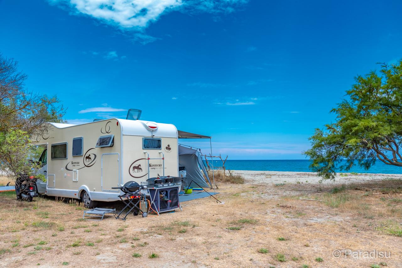 Camping Korsika 20 - Wohnmobil Direkt Am Strand
