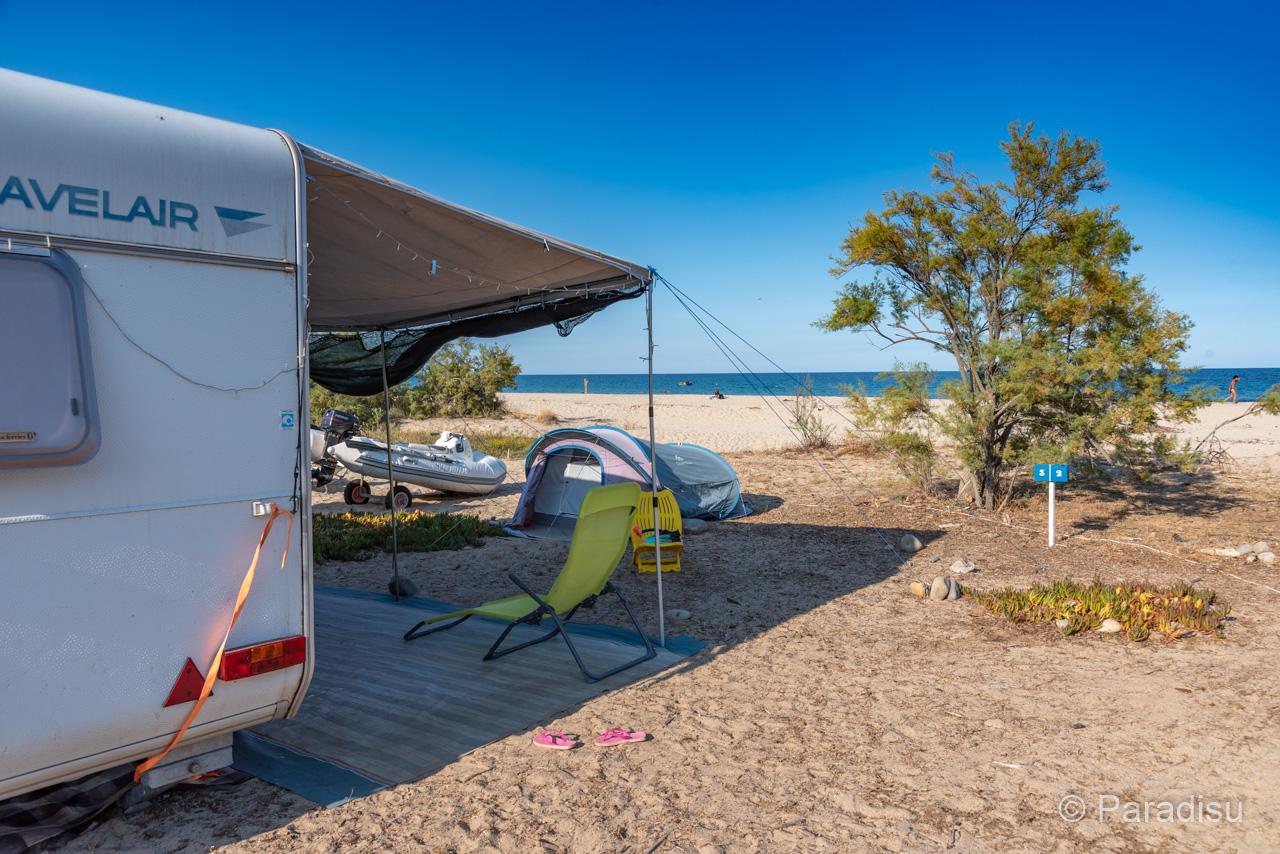 Camping Korsika 21 - Wohnwagen Direkt Am Strand