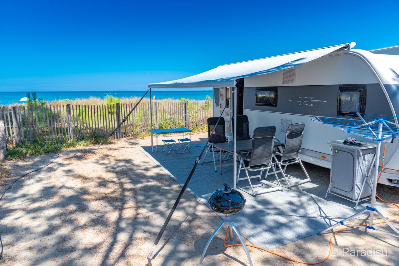Camping Korsika 22 - Wohnwagen Direkt Am Meer