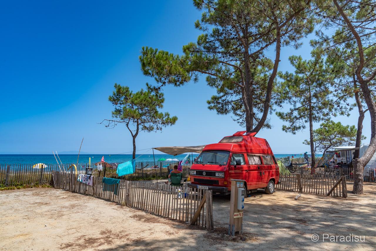 Camping Korsika 23 - VW Bus Direkt Am Meer