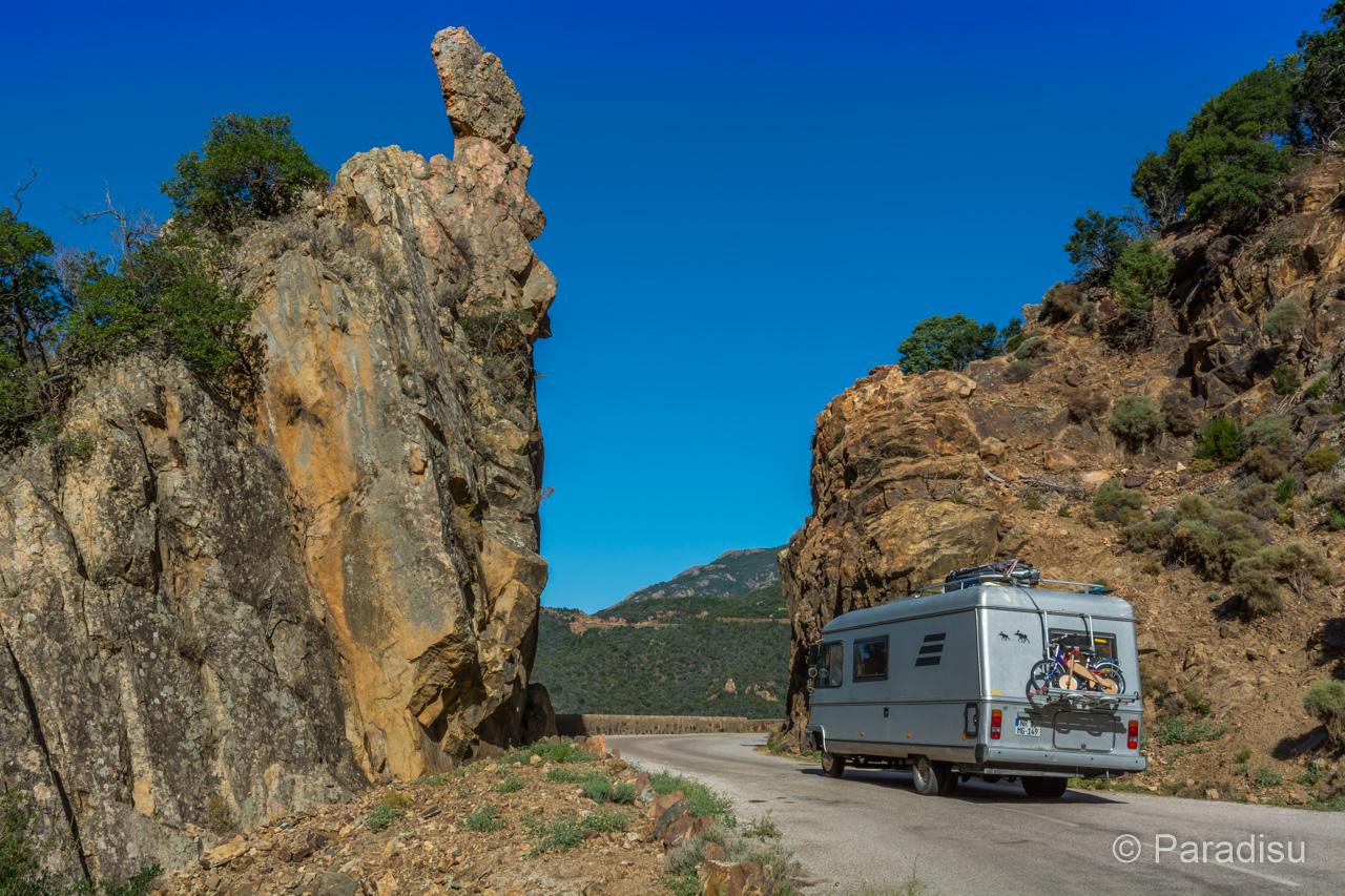 Camping Korsika 5 - Wohnmobil