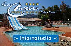 Camping Les Castors Calvi Banner