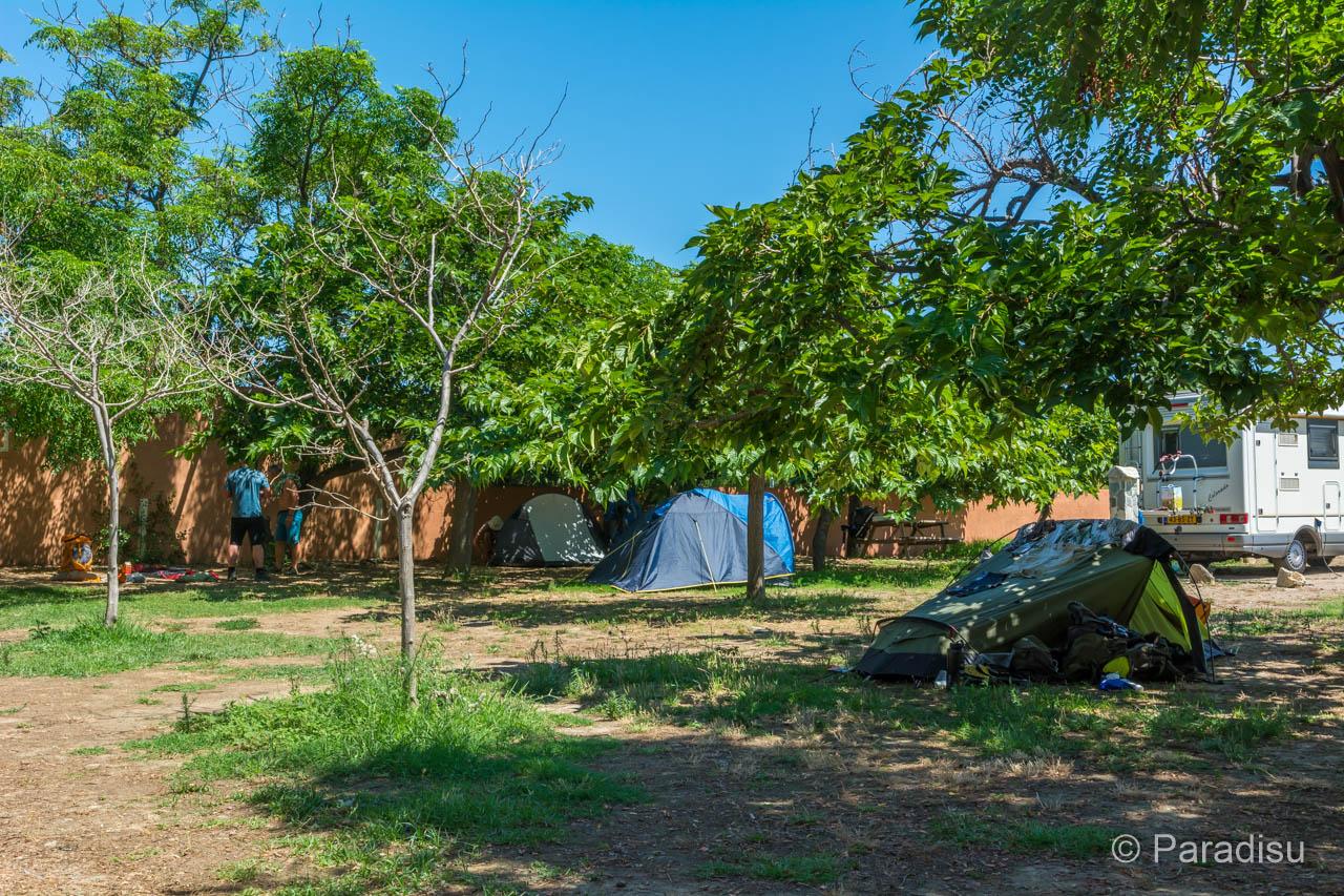 Camping Les Sables Rouges