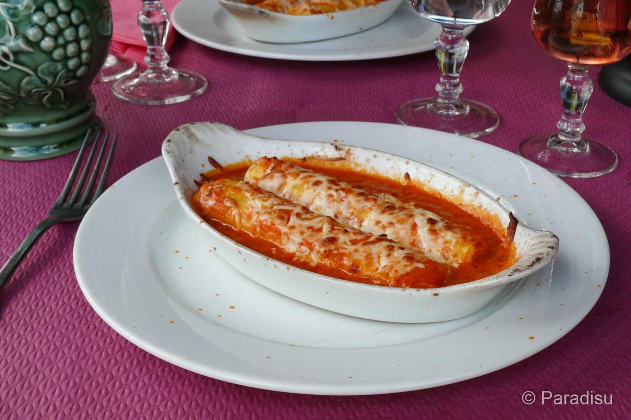 Canneloni Au Brocciu