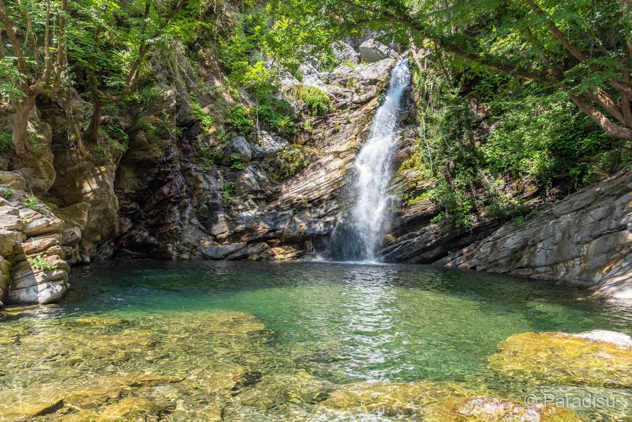 Cascade Bravone Wasserfall