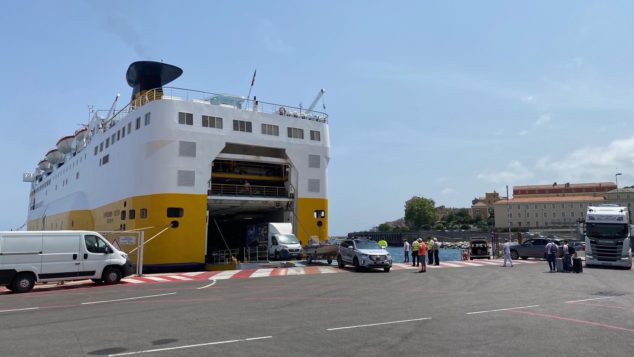 Fähre Heimreise Korsika