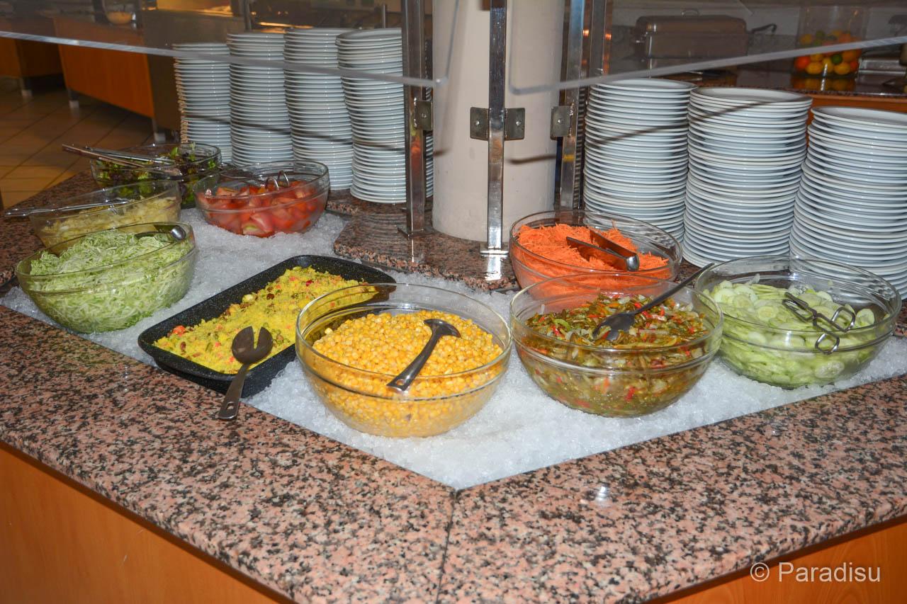 Salatbuffet Im Feriendorf