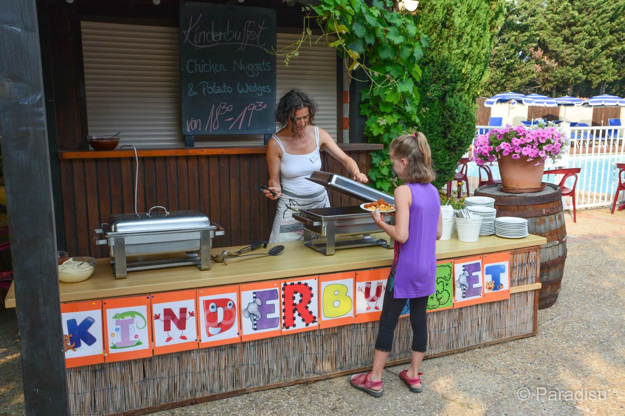 Kinderbuffet Im Feriendorf