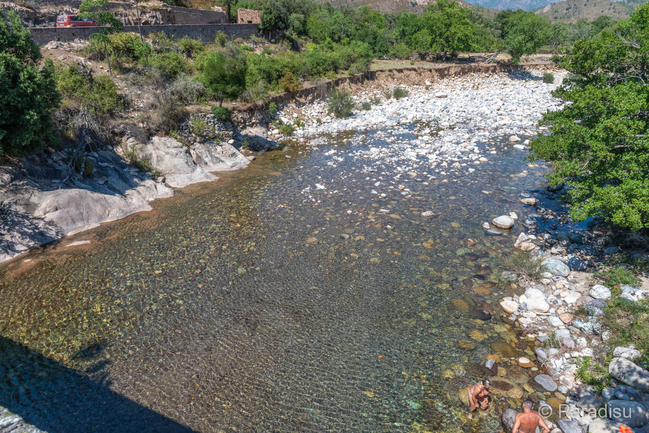 Flussbadestelle Asco Pont De Tesa