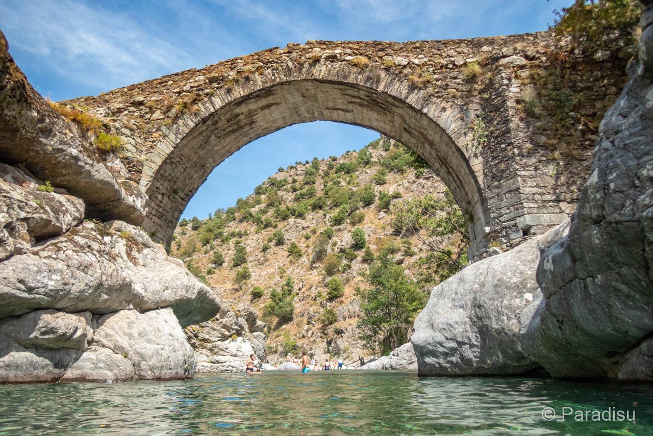 Flussbadestelle Pont D'Asco
