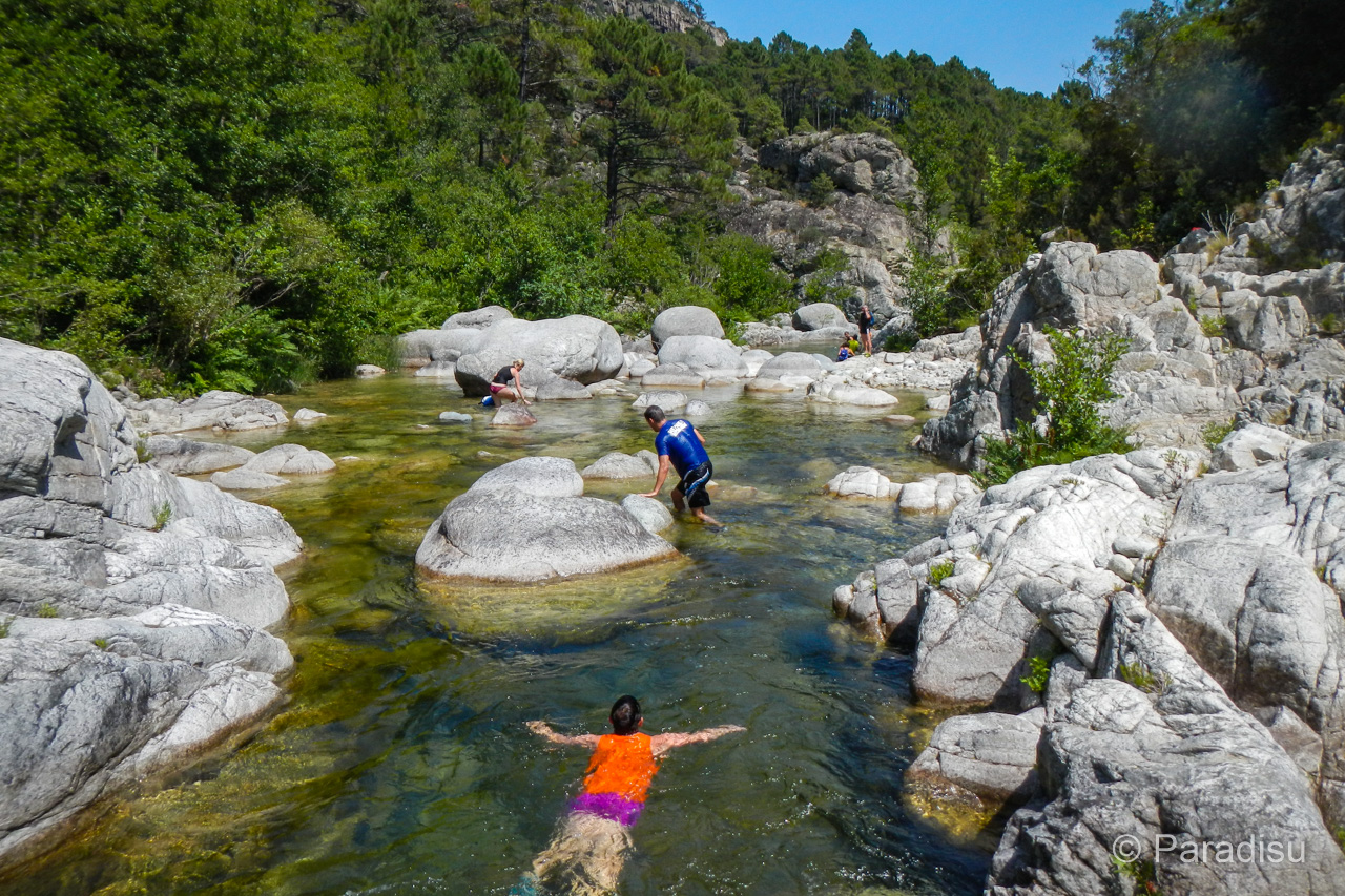 Flusswanderung Travo
