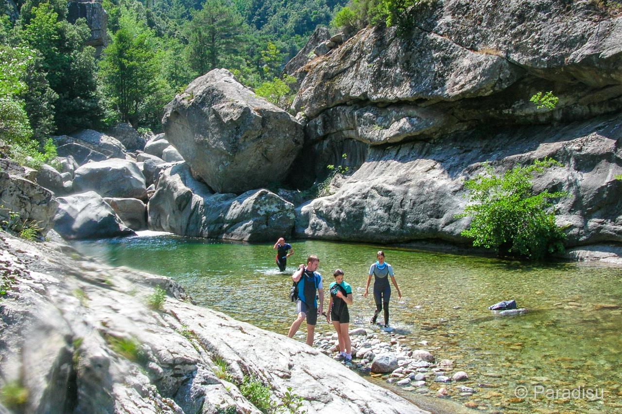 Flusswanderung Vecchio