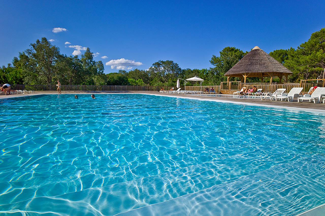 Französisch Sprachkurs Korsika San Damiano Pool