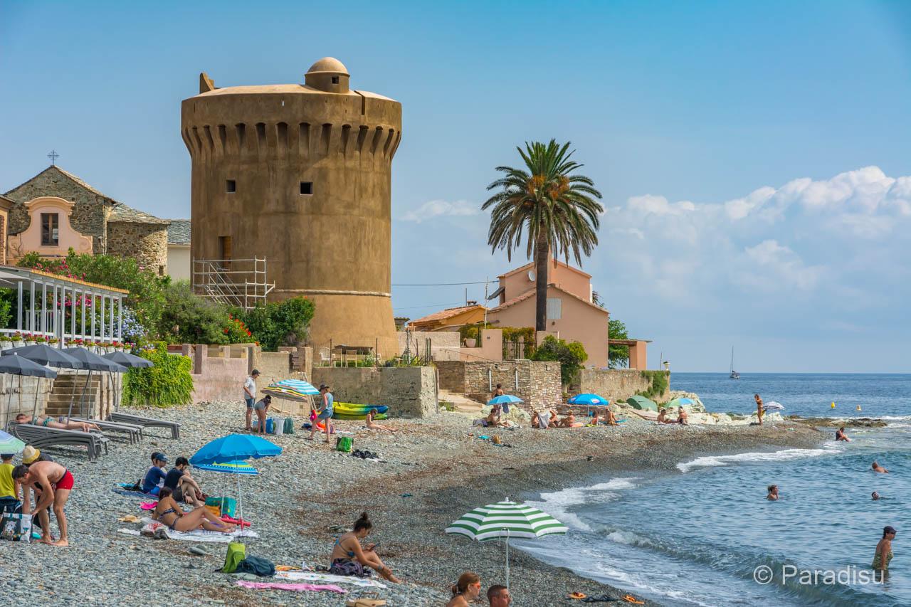 Genuesertürme Auf Korsika