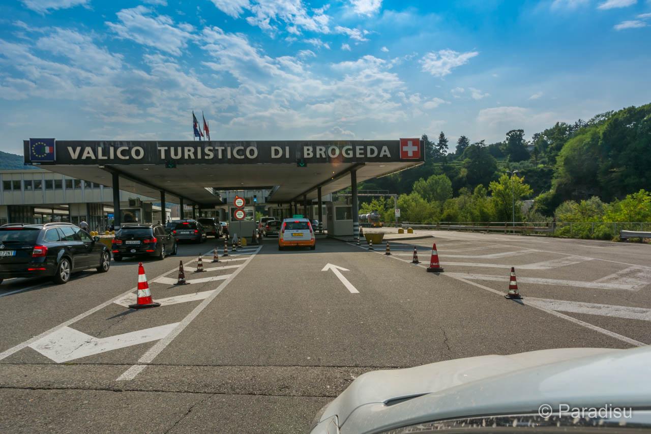 Korsika Anreise Zoll In Chiasso