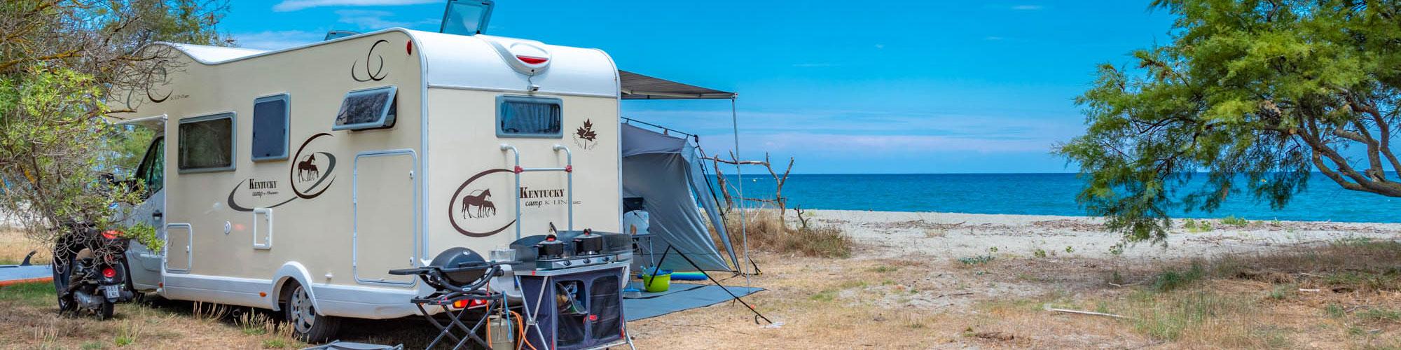 Wohnmobil auf Korsika