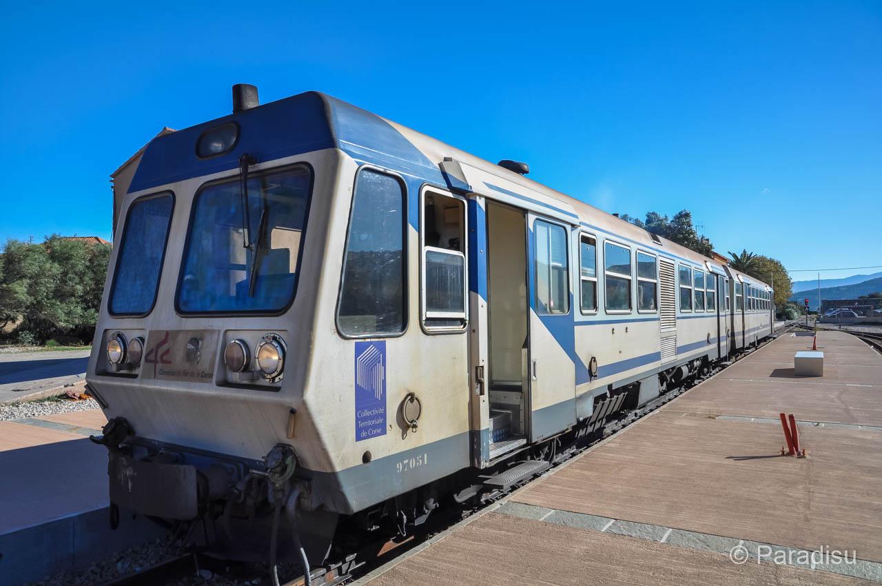 Korsika Eisenbahn