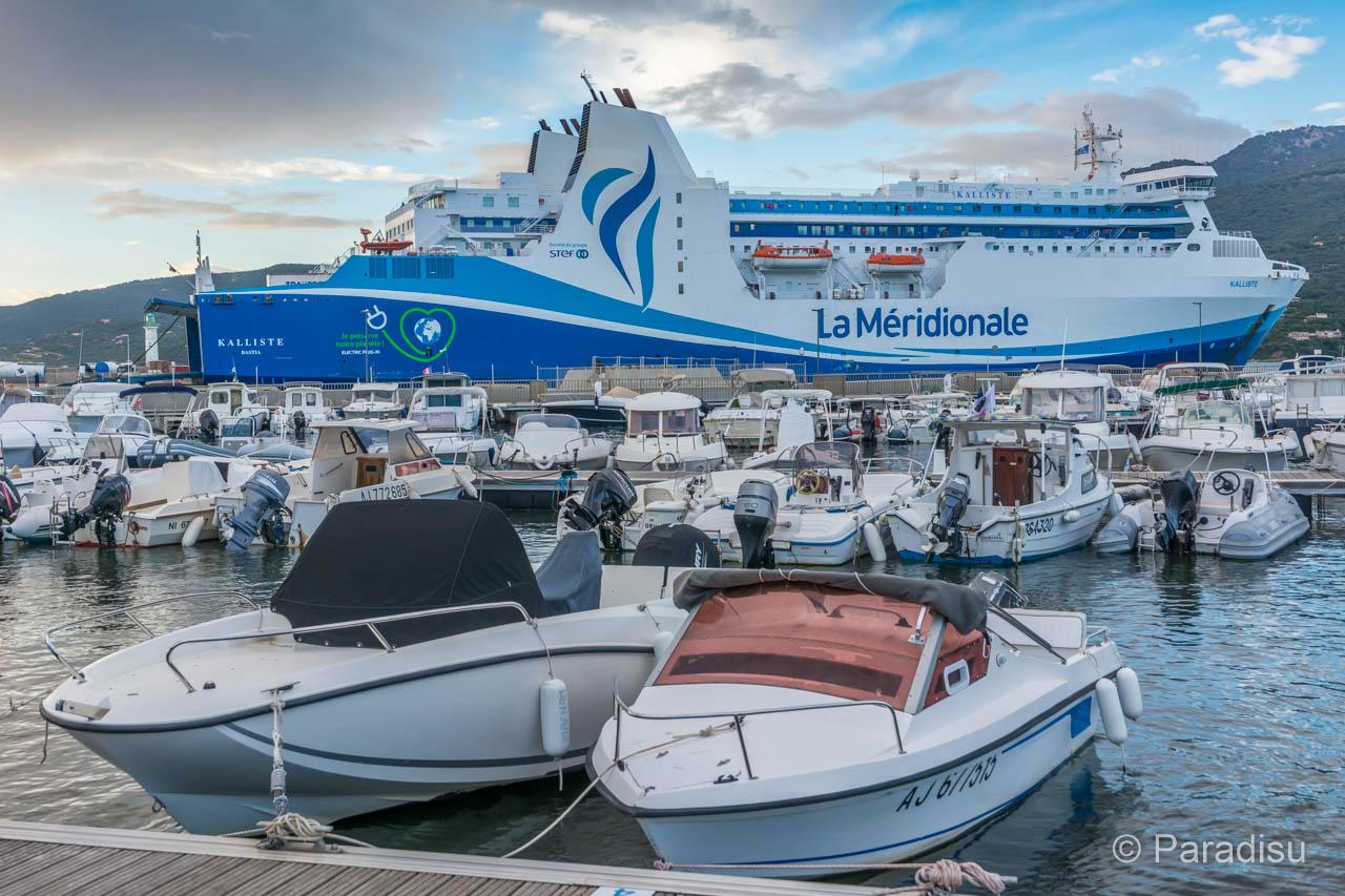 Korsika Fähre La Meridionale