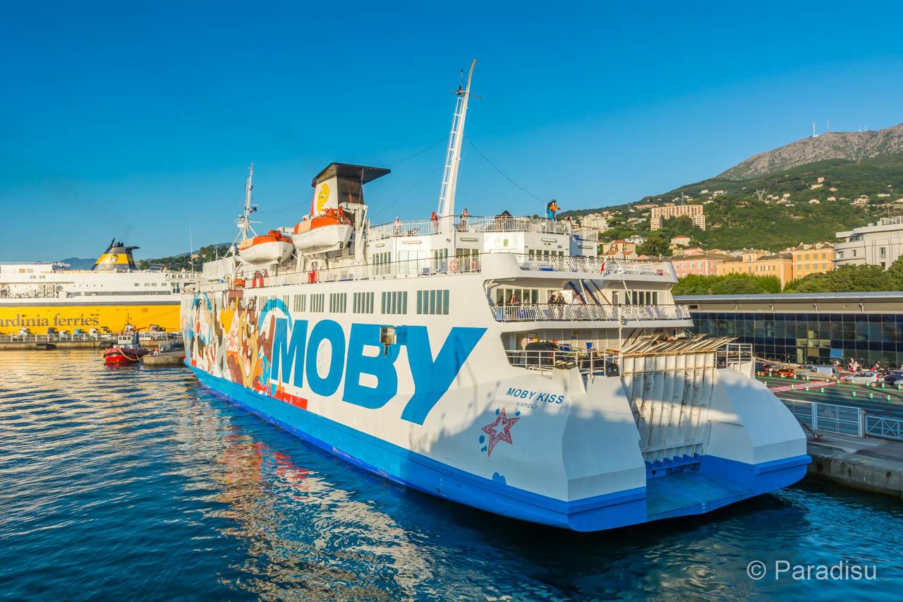 Korsika Fähre Moby Lines