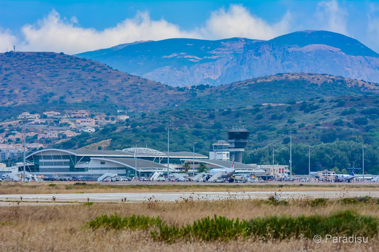 Korsika Flughafen Ajaccio