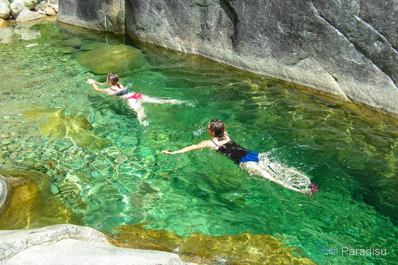 Korsika Flusswandern