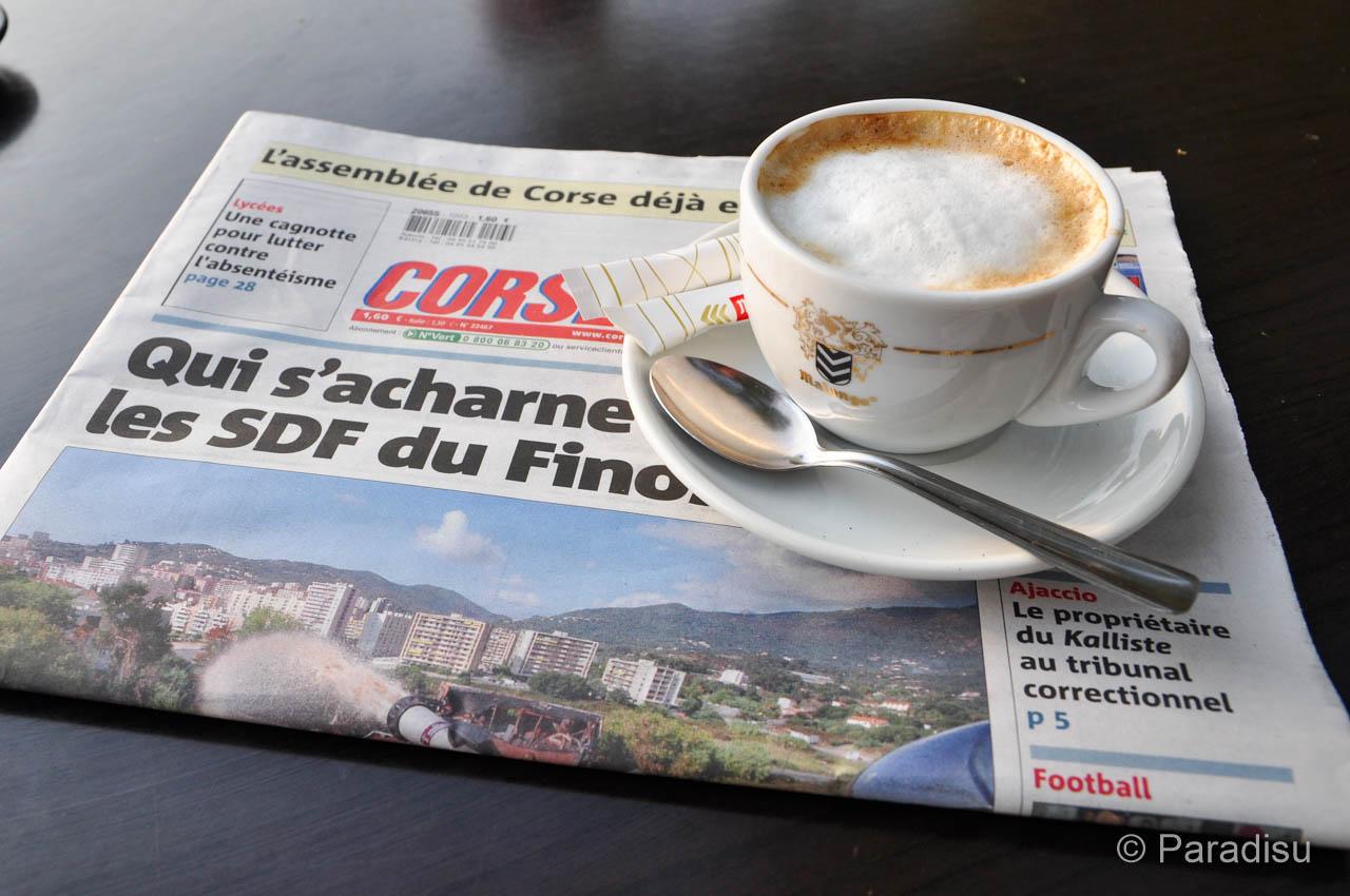 Korsika Kaffee