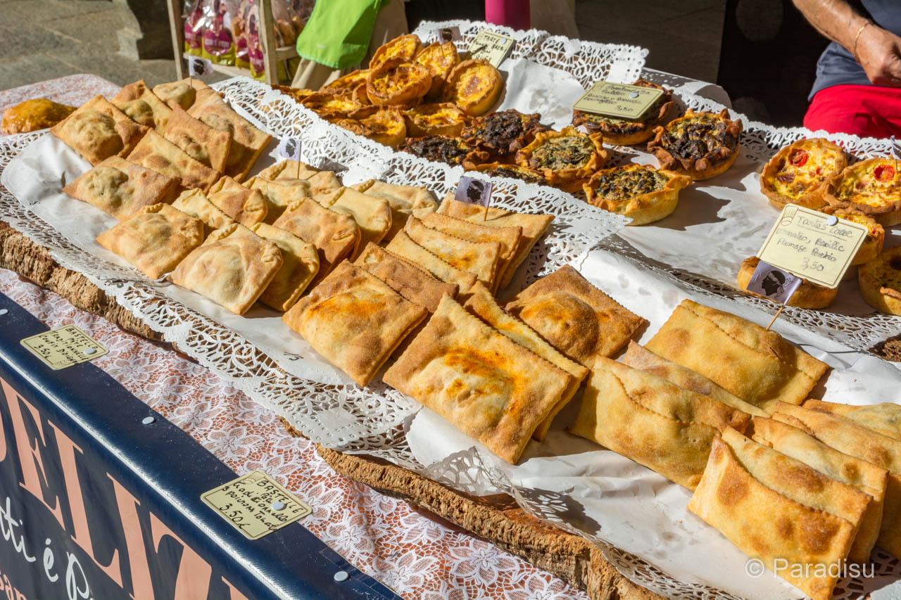 Korsika Markt Gebäck