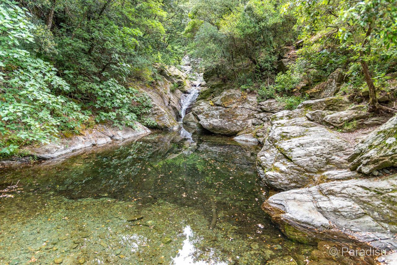 Flussbadestelle Bei Santa-Maria-di-Lota