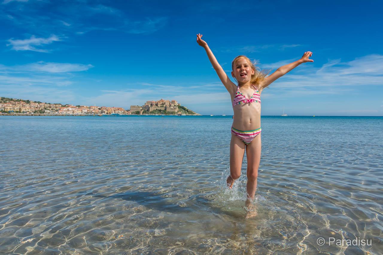 Idealer Strand Für Kinder