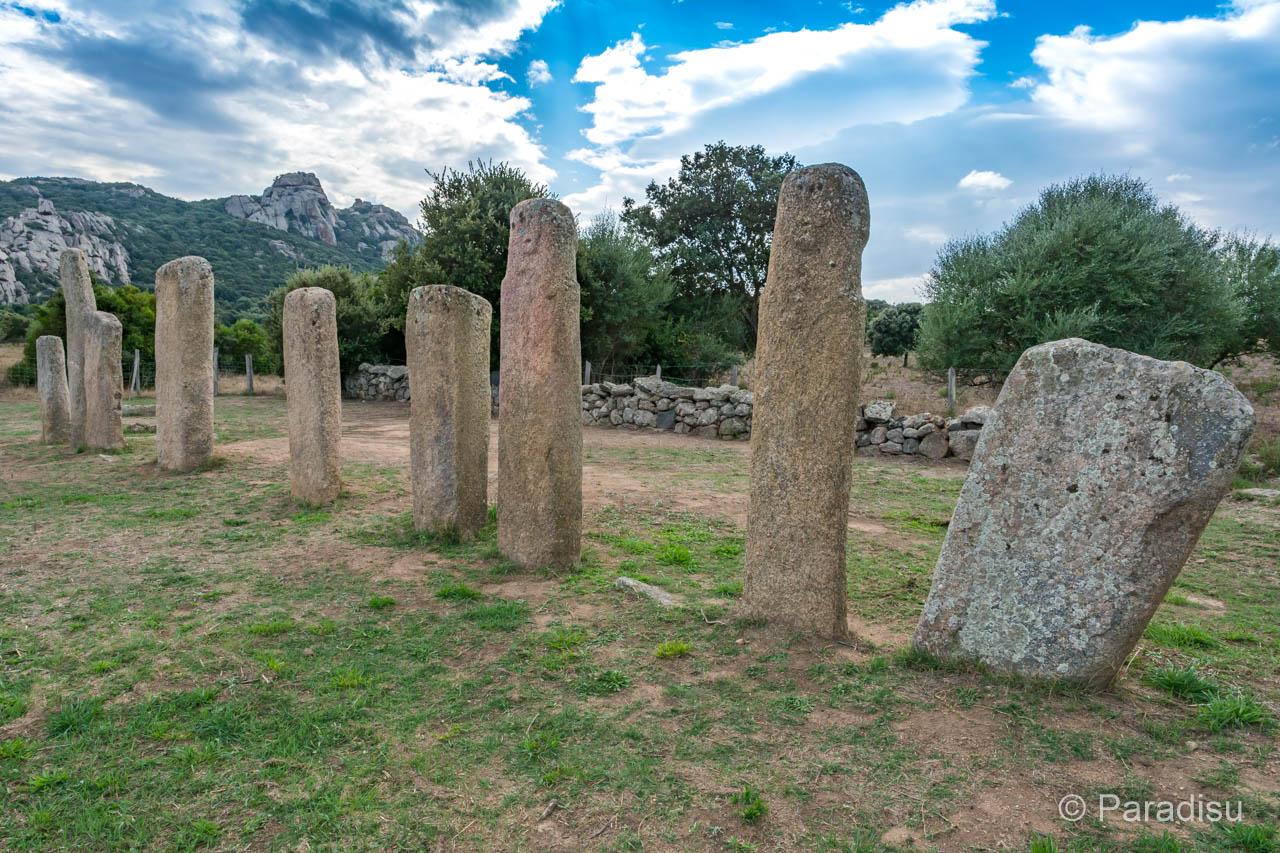Korsikas Prähistorik Menhirstatuen