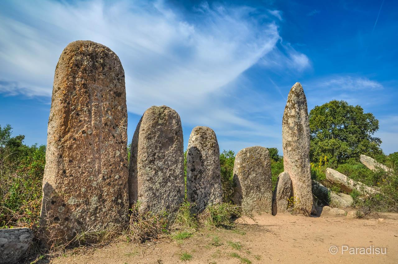 Korsikas Prähistorik Menhire
