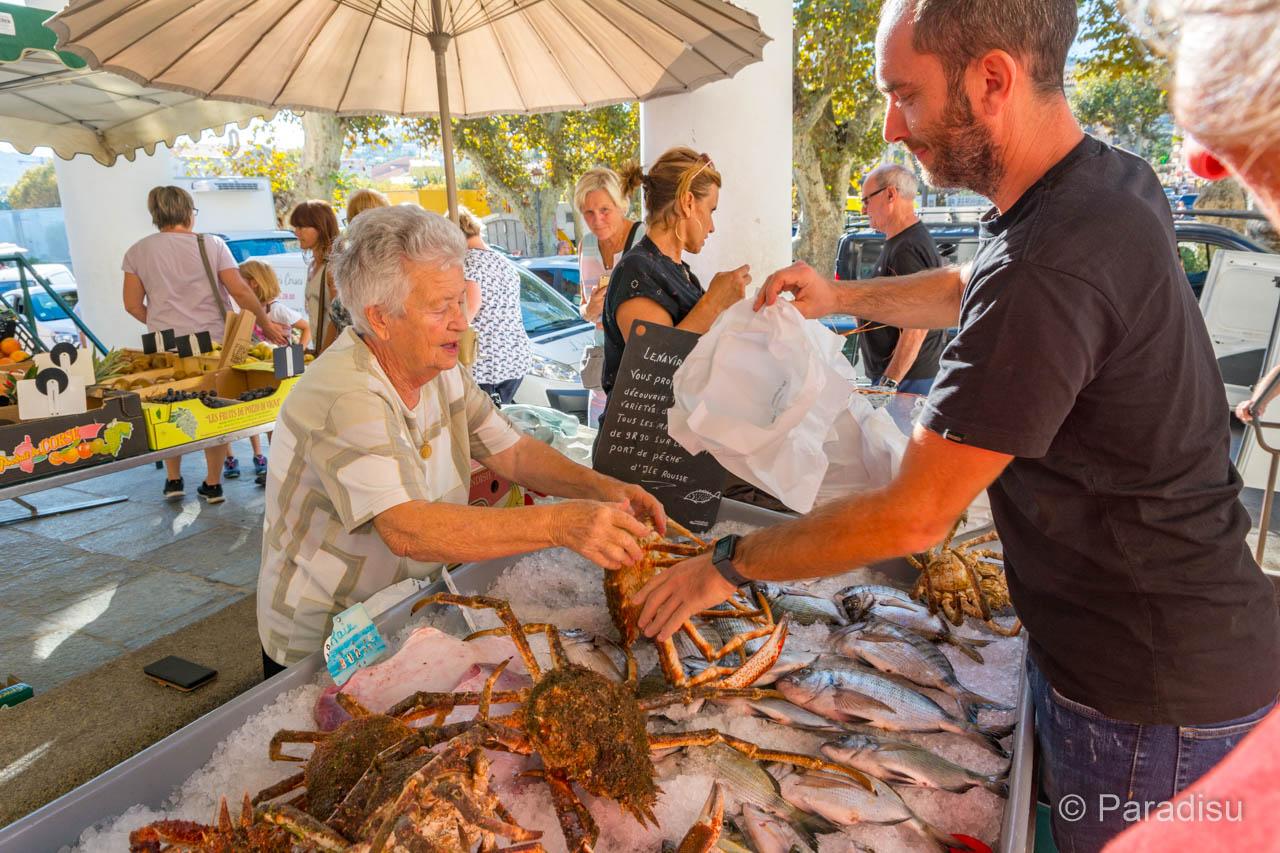 Märkte auf Korsika