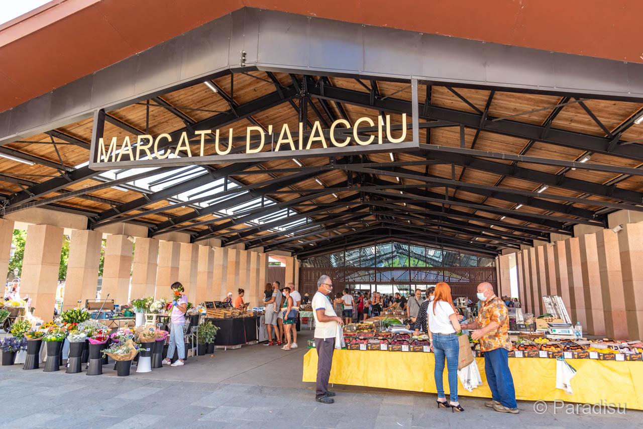 Markt In Ajaccio