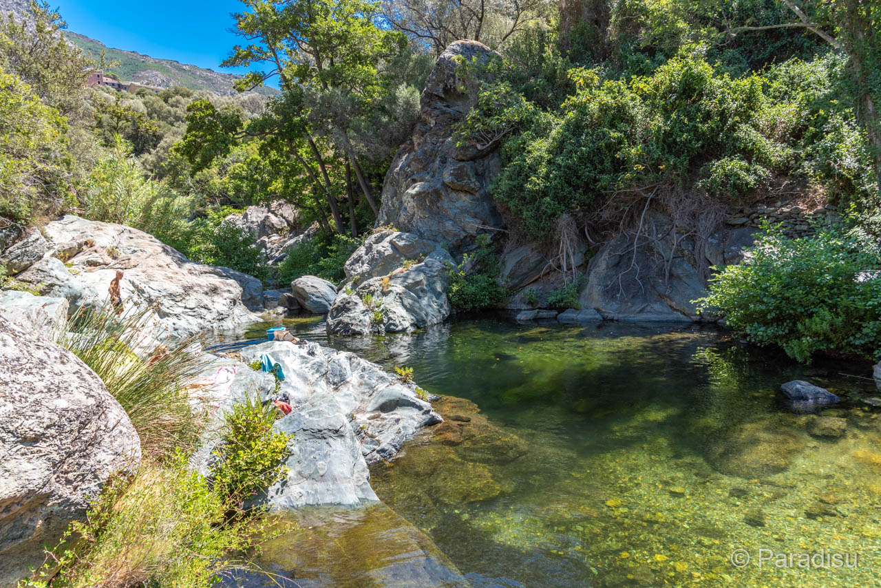 Badestelle Bei Ogliastro