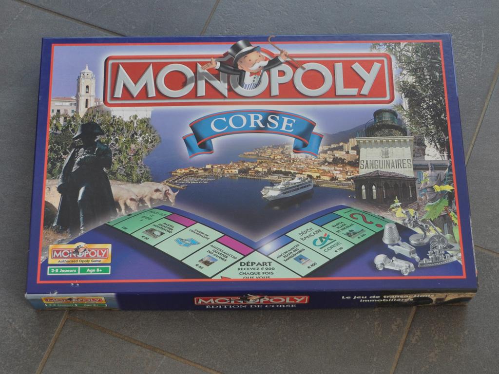 Souvenir aus Korsika: Monopoly Corse