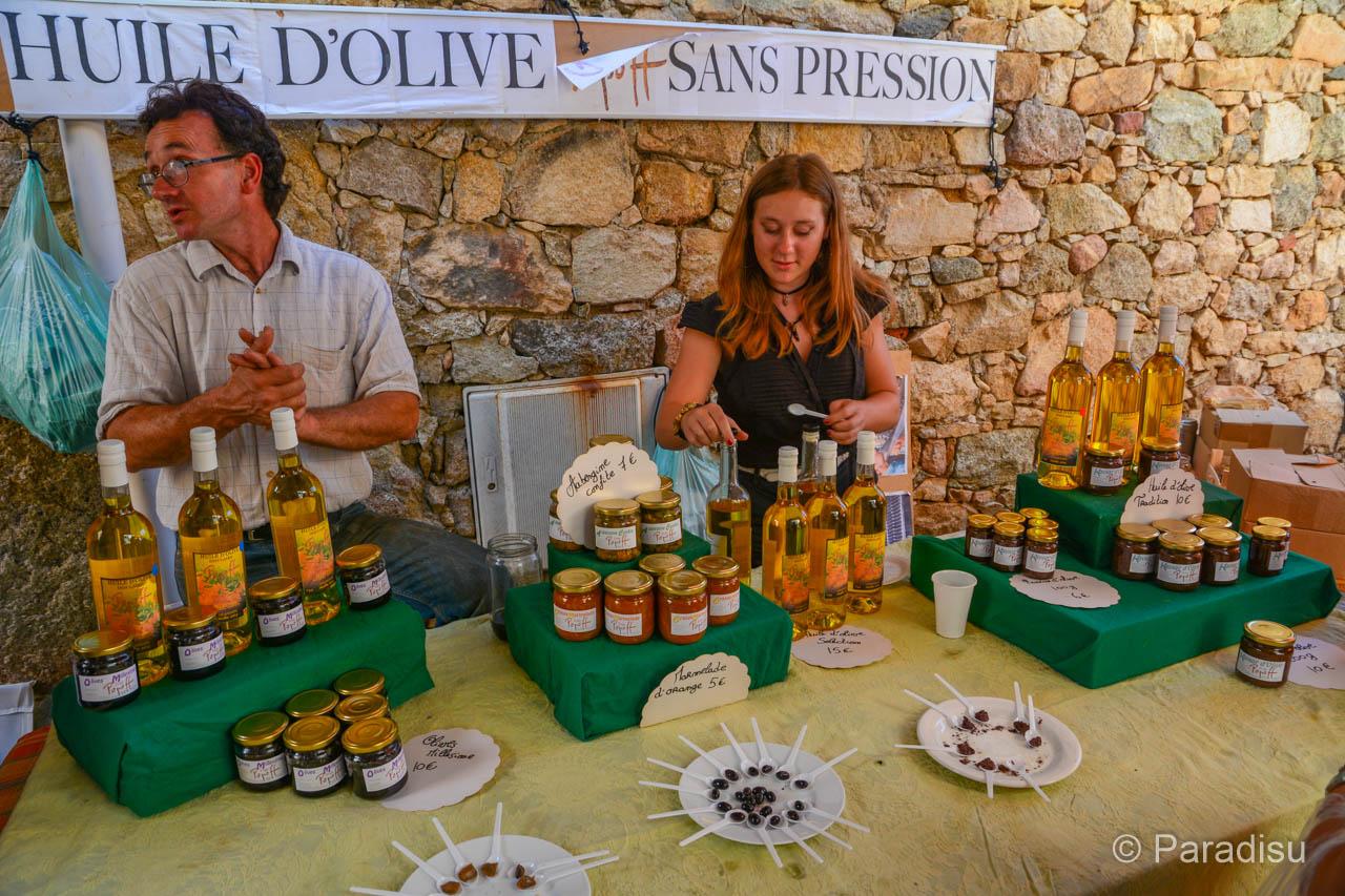 Olivenfest Korsika