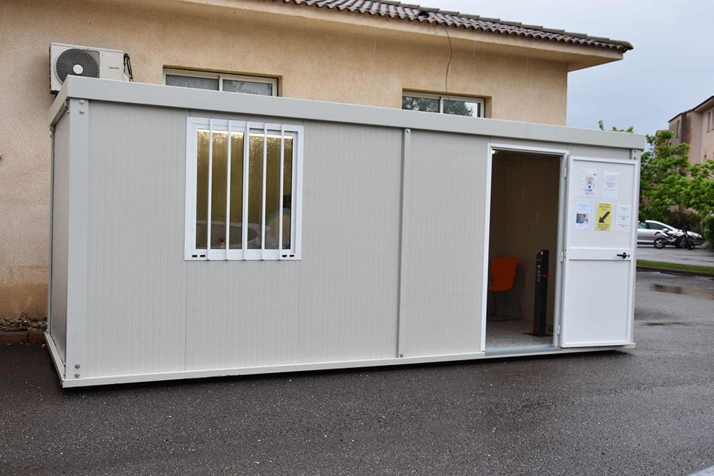 Corona Testzentrum auf Korsika