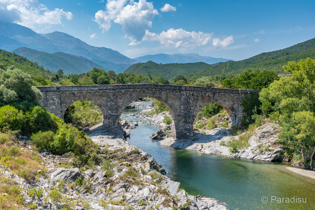 Pont D'Altiani - Unteres Tavignanotal