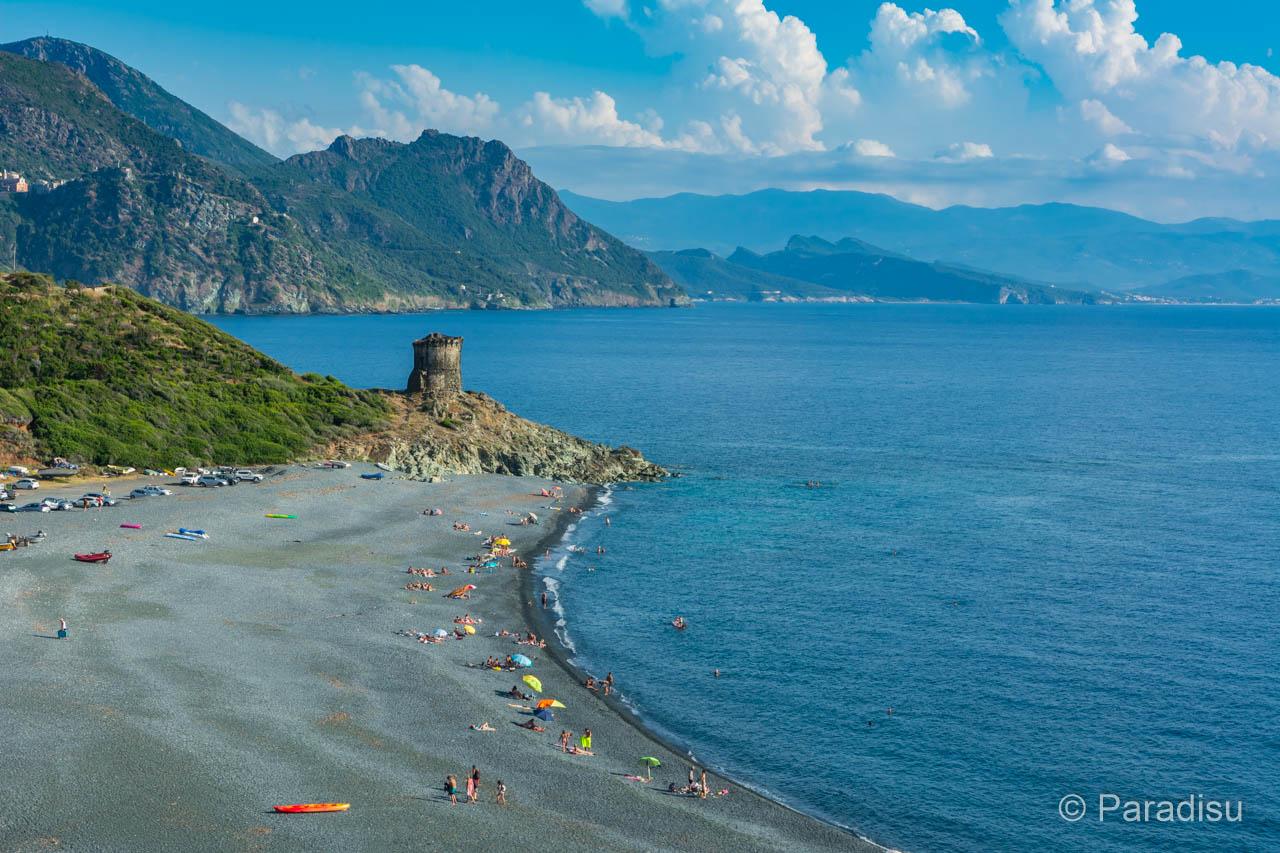 Strände Cap Corse