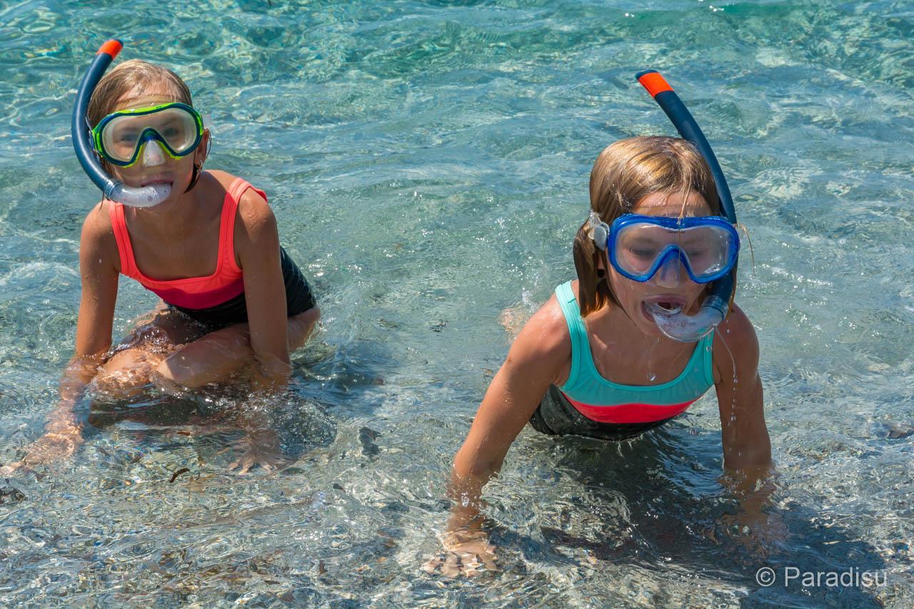 Le Snorkeling En Corse - Schnorcheln Auf Korsika Kinder