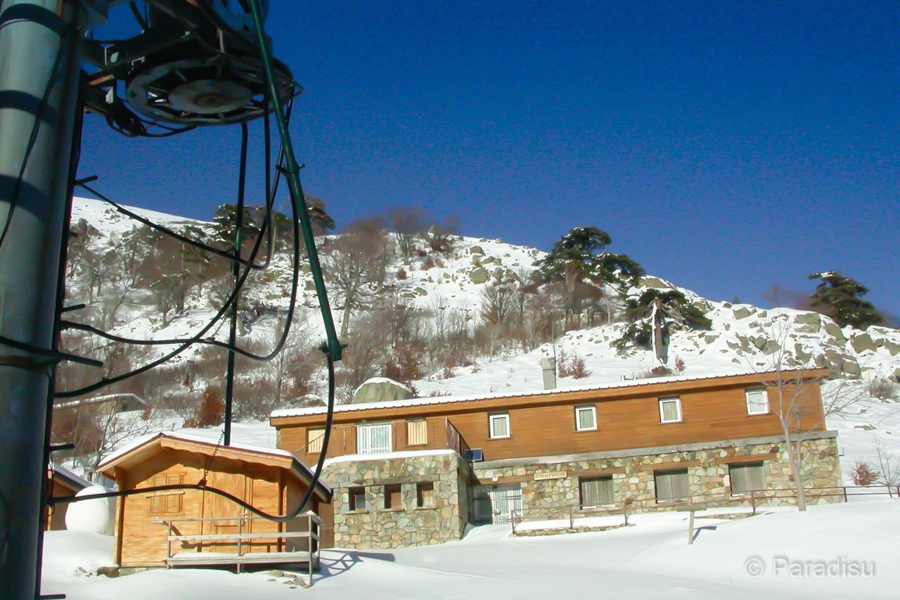 Ski Fahren Auf Korsika