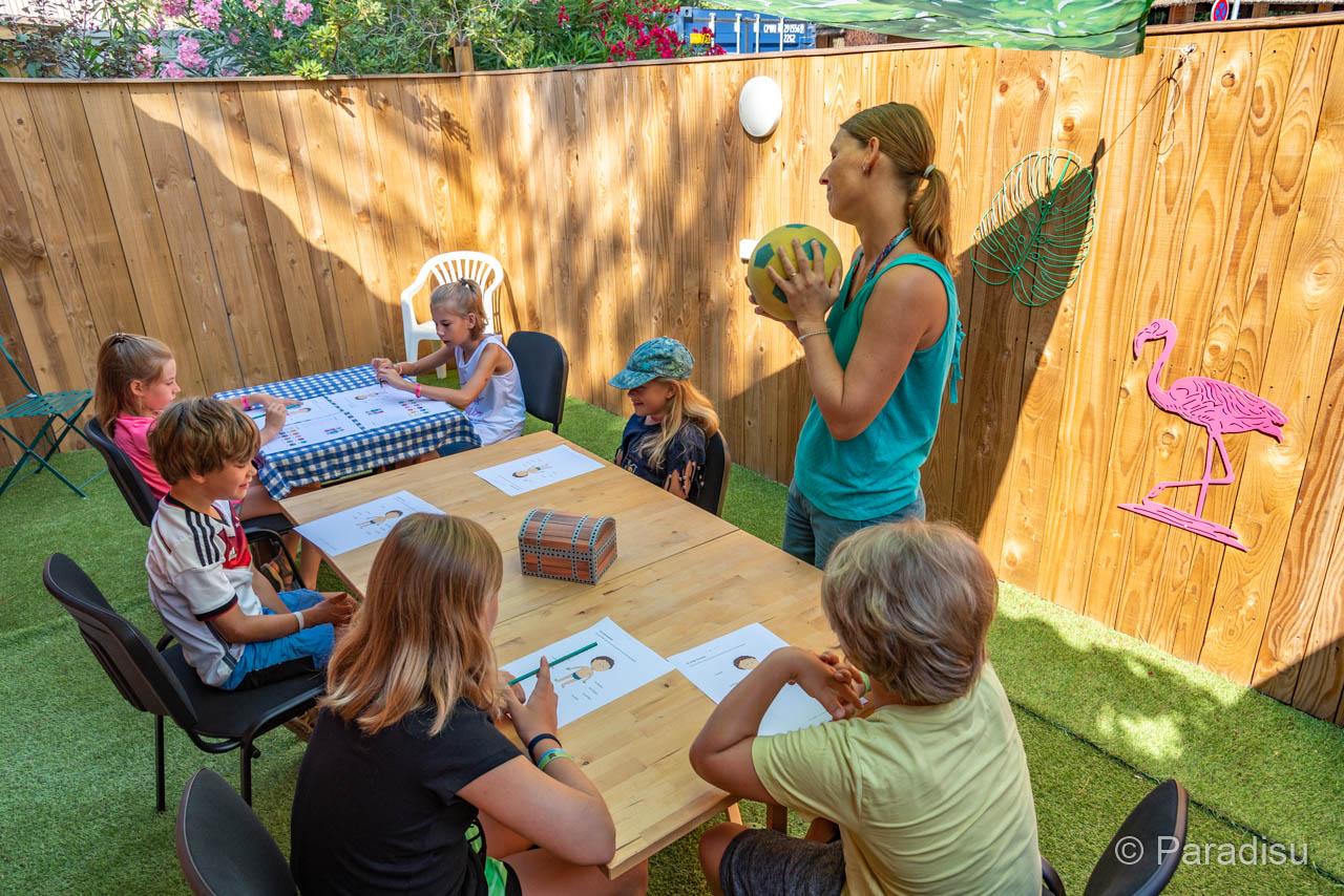 Sprachschule OHLALA Korsika Sprachkurs Für Kinder