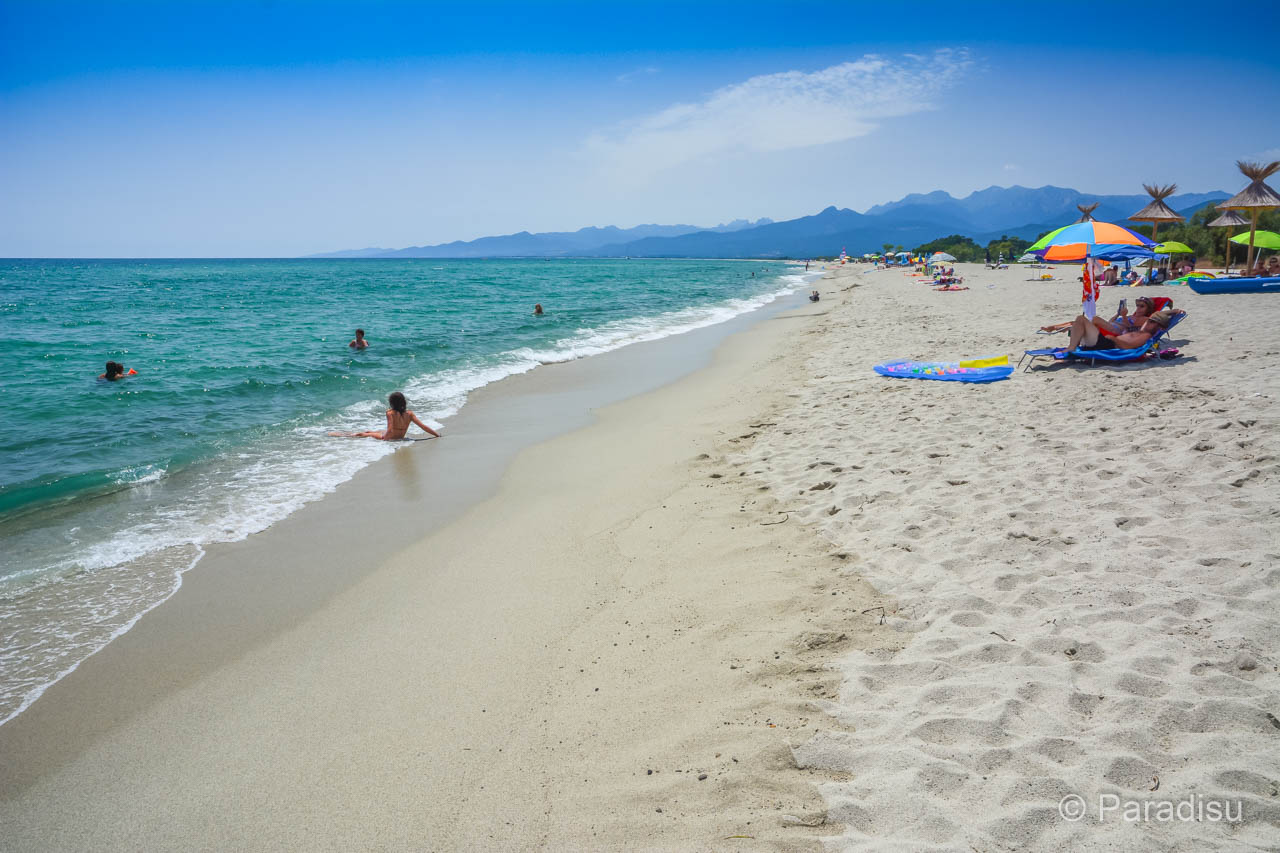 Strände der Ostküste Korsikas
