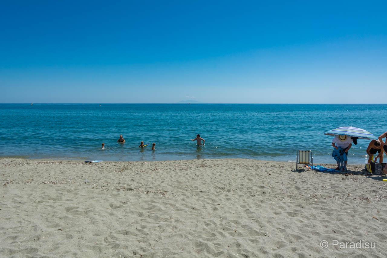 Strand Von Arinella Bastia