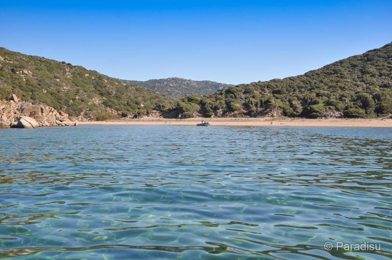 Strand Von Cala Agulia